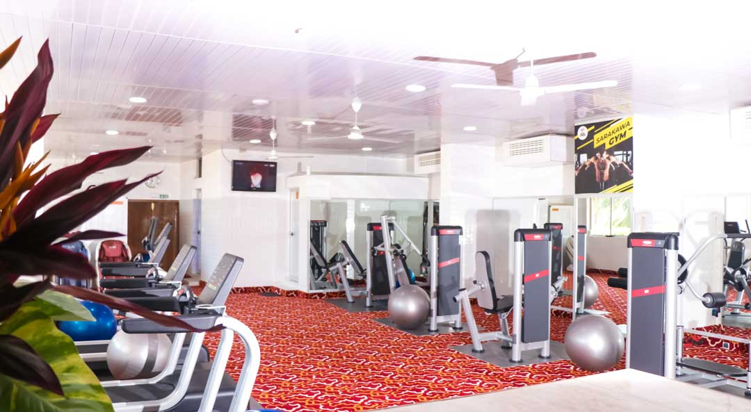 fitness hotel sarakawa
